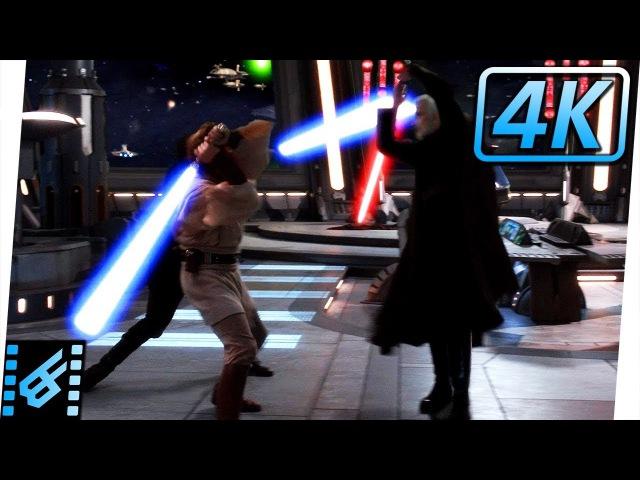 Obi-Wan Anakin vs Count Dooku | Star Wars: Revenge of the Sith