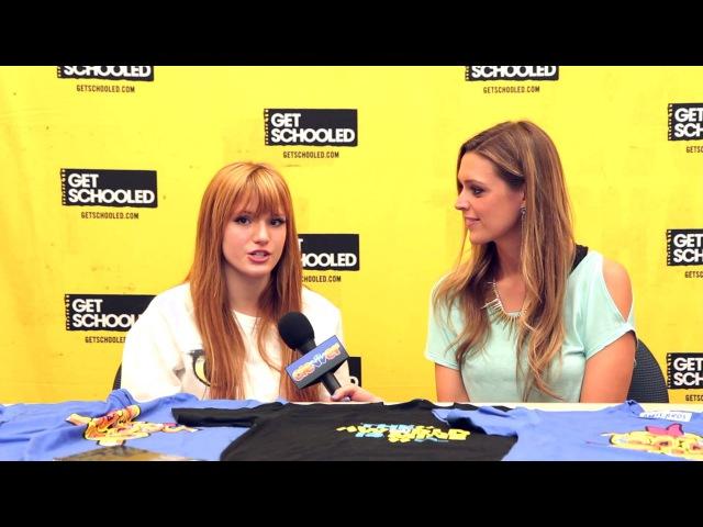 Bella Thorne Interview - Get Schooled Victory Tour