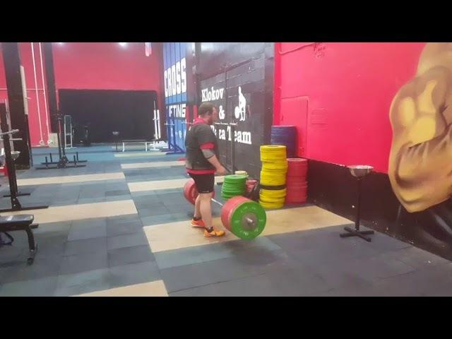 Deadlift 260 kg. Nikita Golovan