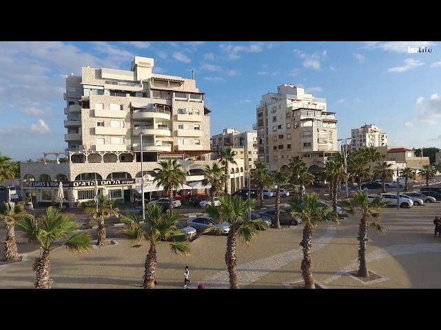 Акко, Израиль с высоты полёта | Acre Israel Dji Phantom 4 | автор Андрюшка