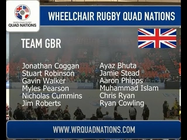 WHEELCHAIR RUGBY QUAD NATIONS GBR-AUS 2018.03.10.2018