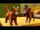 СИМУЛЯТОР Маленького КОТЕНКА 23 Челлендж с животными виртуальные котики детский летсплей ПУРУМЧАТА