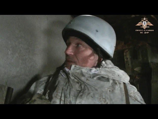 Укрепления ВС ДНР в районе Авдеевской промзоны