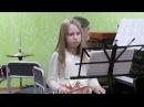 П И Чайковский Марш деревянных солдатиков Молоткова Кристина 8 лет Барабан
