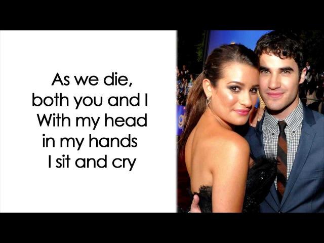 Glee - Don't Speak (Lyrics)
