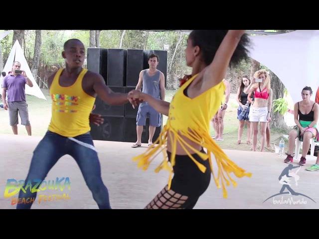 Baila Mundo Marcos Santana e Priscila Lage Brazouka Beach Festival