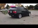 BMW X5 rear muffler delete