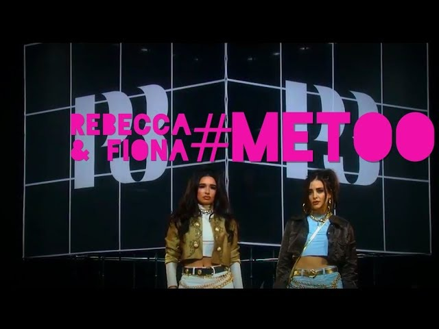 REBECCA FIONA ABOUT METOO AT P3 GULD AWARDS