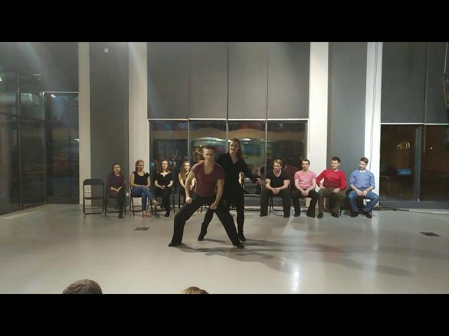 Хастл. Invitational. Rock'n'Dance Fest-2018 Северин Алексей - Степочкина Яна (fast)