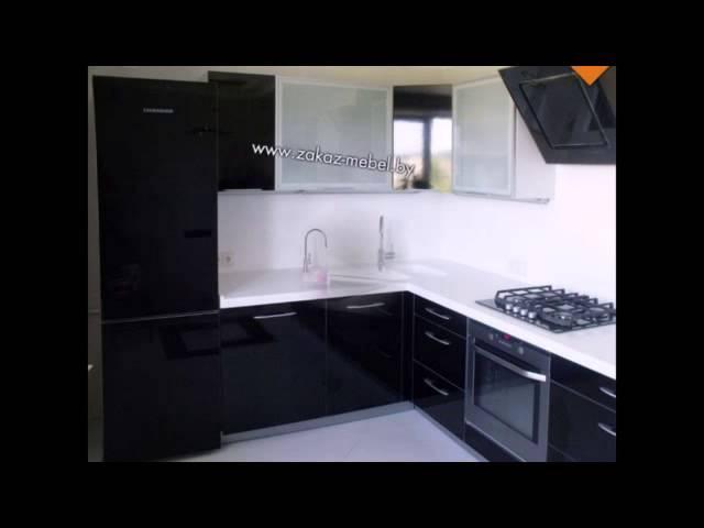 Черно-белые кухни подборка фото