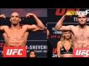 Официальное взвешивание Хабиб Нурмагомедов — Эдисон Барбоза UFC219