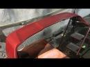 Покраска Спойлера EVO Replica на Lancer X Крах