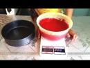 Қызыл бархат тортын қалай жасаймыз Как приготовить торт красный бархат