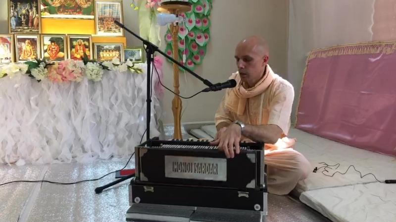 Sunday kirtan – Veliky Novgorod, 22-04-2018