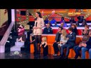 Amazon Ekaterina Lisina Standing Next To Female Midget In Russian TV Show