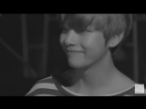I love how when Taehyung sees Seokjin he immediately smiles and the two of them play around to possibly relieve some stress and