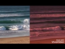 Waves. Made with VivaVideo