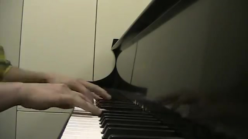 Battlestar Galactica - All Along the Watchtower (Piano)