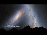 Столкновение титанов - Milky Way and Andromeda Galaxy от группы Космос. Вселенная. Все о космосе