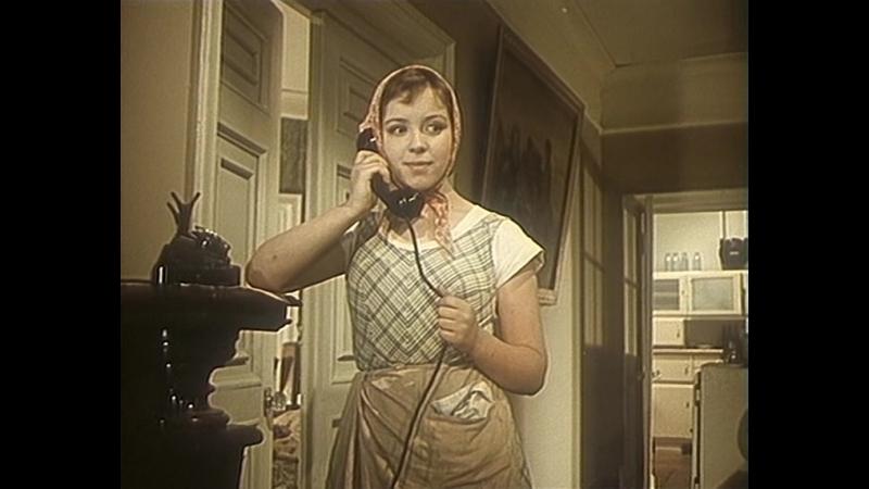 Девушка без адреса. 1957.(СССР. фильм-мелодрама, комедия)
