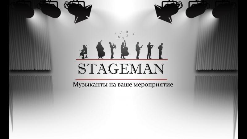 Cтрунное трио STAGEMAN - Metallika(Nothing else metter)