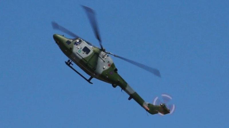 Фигуры высшего пилотажа на вертолете
