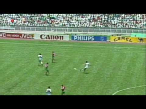 Manuel Negrete Mexico vs Bulgaria 1-0 18 Finals World Cup 1986 Dutch commentary