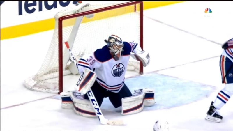 Dmitry Orlov Slapshot Goal vs Edmonton / Выстрел Орлова в 9-ку