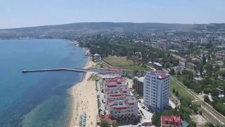 Феодосия Черноморская набережная, облет объекта