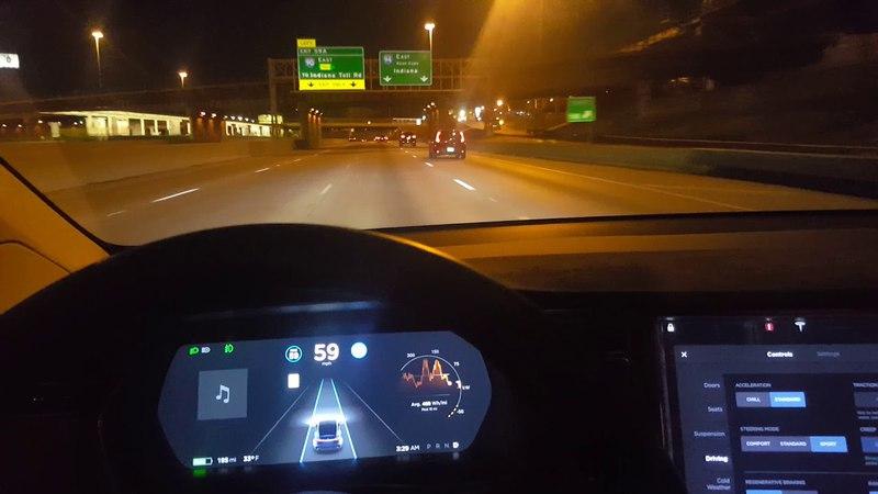 Tesla Auto Pilot tries to kill occupants