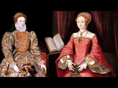 Елизавета 1 Тюдор - королева Англии, младшая дочь Генриха 8, победительница Великой армады.