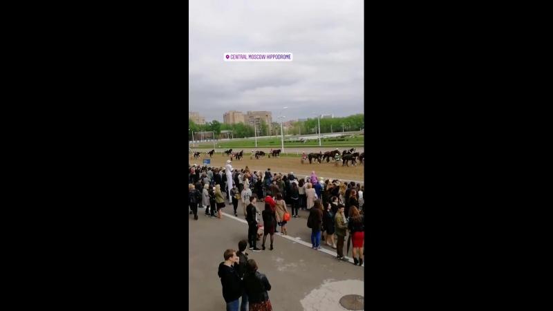 06.05.2018 Открытие скакового сезона на Центральном Московском ипподроме