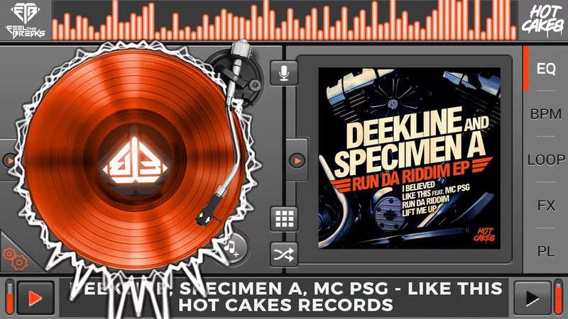 Deekline, Specimen A, MC Psg - Like This (Original Mix)
