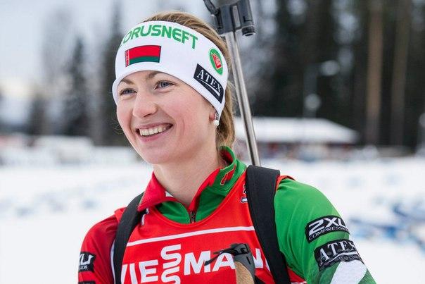 Домрачева завоевала серебро на этапе Кубка мира в Холменколлене  Побед