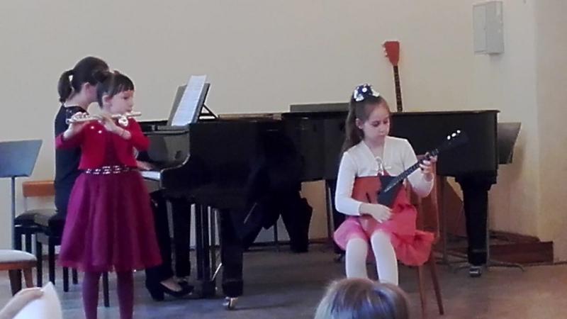 Дуэт флейты и балалайки