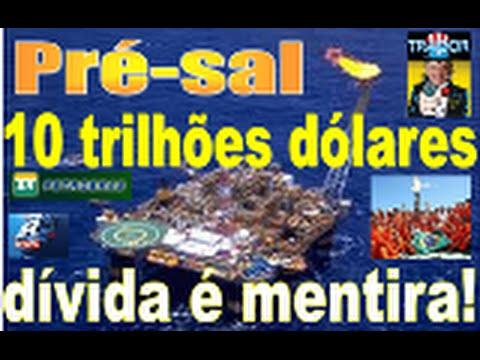 JR News dívida da Petrobras é mentira! Pré-Sal lucro 10 trilhões dólares, José Serra (traidor)