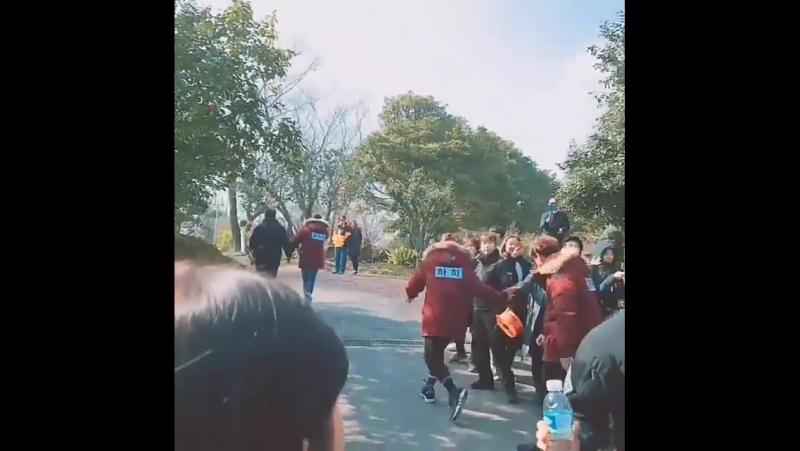 Съёмки шоу Running ManБеглецы. [22.01.2018]