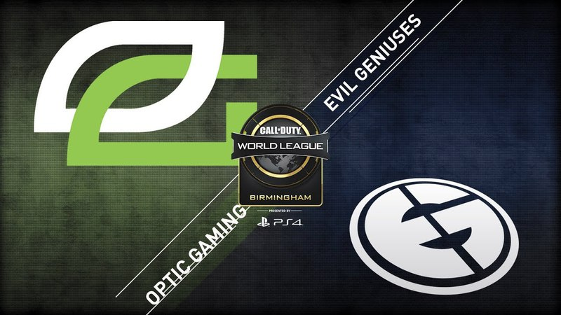 OpTic Gaming vs Evil Geniuses CWL Birmingham Open Alpha Stream Day 1
