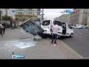 Вести Москва В крупном ДТП у Курского вокзала пострадали два человека