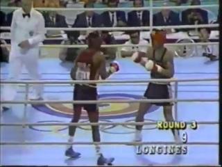 Рой Джонс - Парк Си Хун Олимпиада 1988 в Сеуле финал