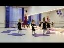 Наши крошки-балерины 👼🏼 на открытом уроке 🌸