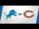 NFL 2017-2018  Week 11  19.11.2017  Detroit Lions @ Chicago Bears
