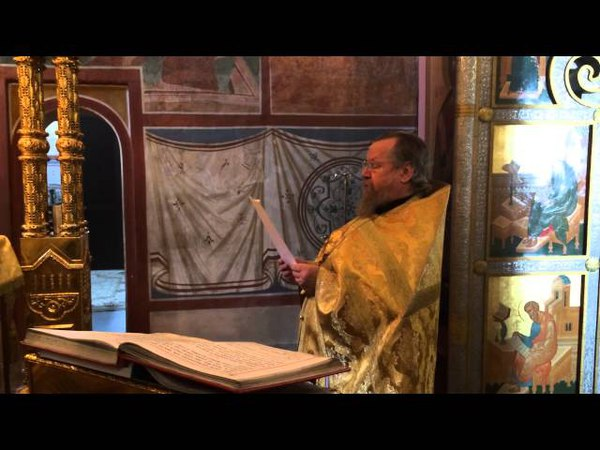 Схиархимандрит Власий (Перегонцев) произносит молитву за Украину