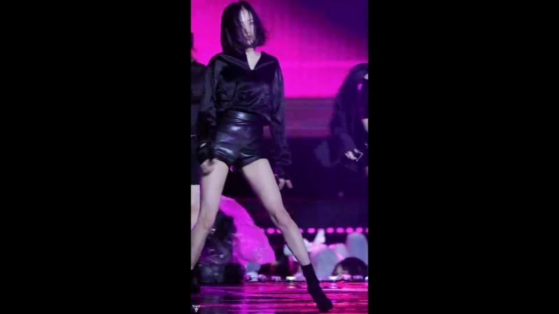 [4K] 180404 CLC 예은 직캠 (Crystal Clear⁄장예은) - BLACK DRESS(블랙드레스) @울산남다른 행복콘서트⁄Fancam By 쵸리(Chori)