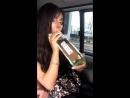 Алена Пискун учит правильно пить мартини