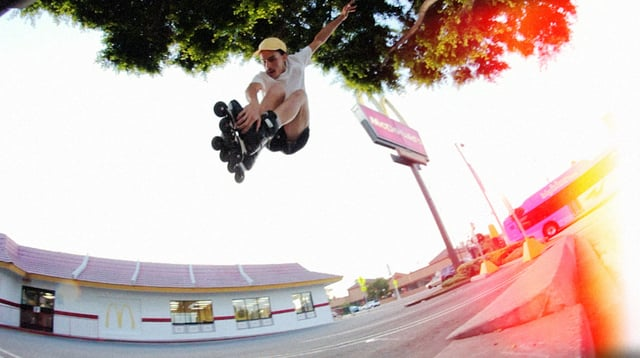 Jeremiah Dougherty riding the F-5 Street Sider by Flying Eagle