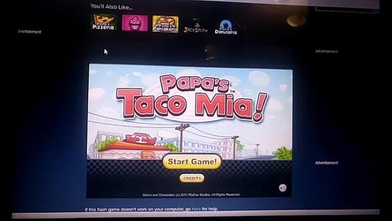 Играем в Papa' s Taco Mia!