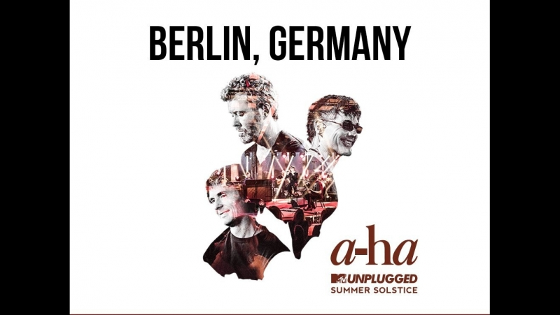 A-ha - Scoundrel Day - MTV Unplugged - Berlin 29.01.18