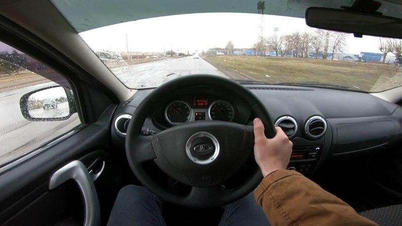 2013 LADA Largus 1.6L 105hp POV Test Drive