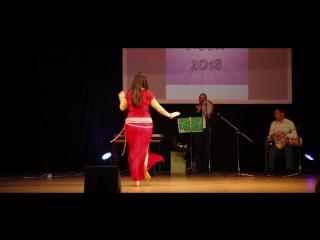 Балади импровизация любители начинающие Быковская Галина фестиваль Raks el Nour april2018